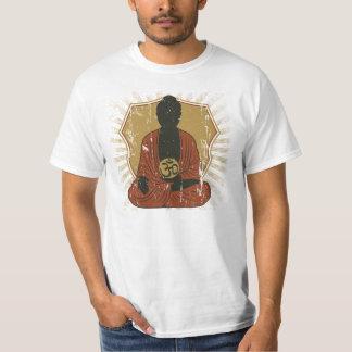 Meditierendes OM Symbol Buddhas T-Shirt