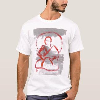 Meditierendes Shaolin Mönch-T-Shirt T-Shirt
