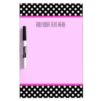 Medium mit Stift: Punkt-rosa Ordnung: Trocknen Sie Memoboard
