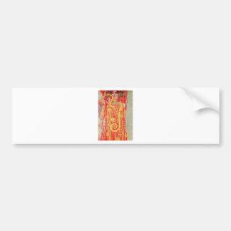 Medizin Gustav Klimt Autoaufkleber