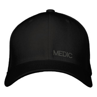 Mediziner flache Flexfit Kappe Bestickte Mütze