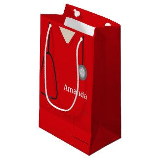 Medizinisch scheuert rotes SGB Kleine Geschenktüte