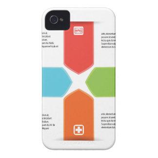 medizinische Ikone iPhone 4 Case-Mate Hülle
