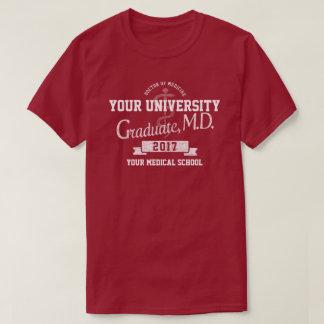 Medizinische Schuldoktor Graduate Graduation T-Shirt