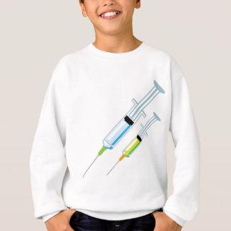 Medizinische Spritze Sweatshirt