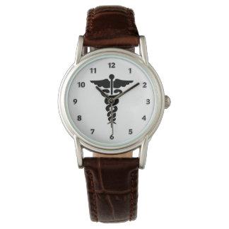 Medizinisches Symbol Uhr