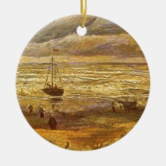 Meer in Scheveningen durch Vincent van Gogh Keramik Ornament