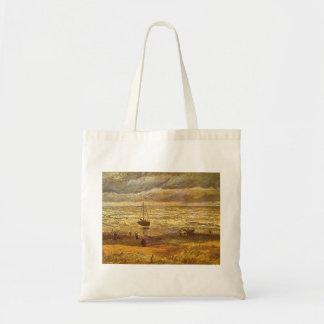 Meer in Scheveningen durch Vincent van Gogh Tragetasche