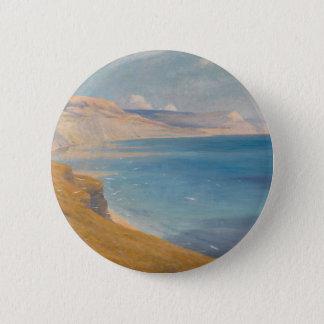 Meer und Sonnenschein Runder Button 5,7 Cm