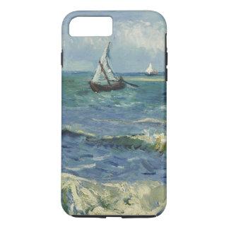 Meerblick bei Saintes-Maries de la Mer durch Van iPhone 8 Plus/7 Plus Hülle
