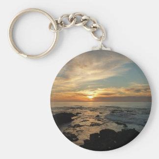 Meerblick San Diego Sonnenuntergang-I Kalifornien Schlüsselanhänger