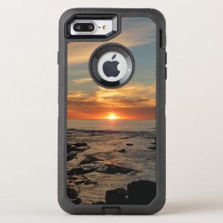 Meerblick San Diego Sonnenuntergang-II Kalifornien OtterBox Defender iPhone 8 Plus/7 Plus Hülle