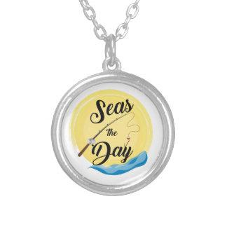 Meere der Tag Versilberte Kette
