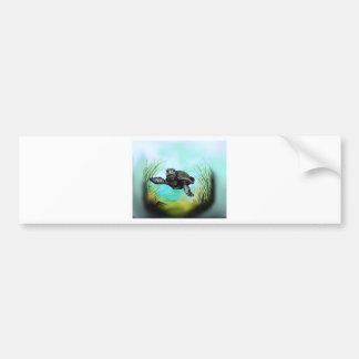 Meeresschildkröte Autoaufkleber