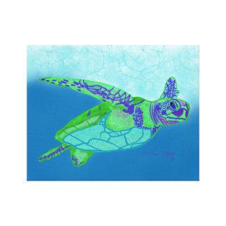 Meeresschildkröte-Druck Leinwanddruck