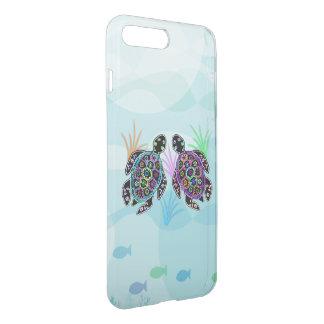 Meeresschildkröte-Glühen iPhone 7 Plus Hülle