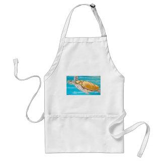 Meeresschildkröte Schürze