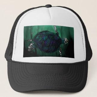 Meeresschildkröte Truckerkappe