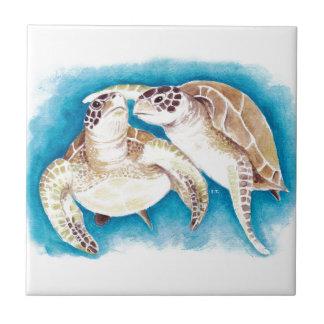 Meeresschildkröten Keramikfliese
