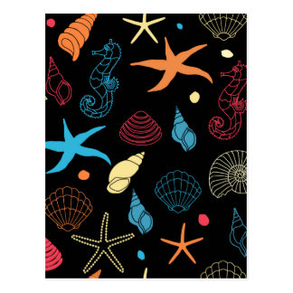 Meergeschöpfe Postkarte