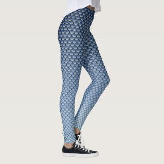 Meerjungfrau-Art ~ dunkelblau Leggings