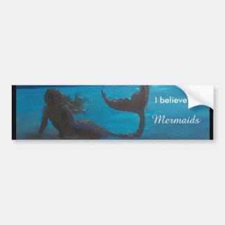 Meerjungfrau-Autoaufkleber Autoaufkleber