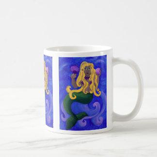 Meerjungfrau-Diva Kaffeetasse