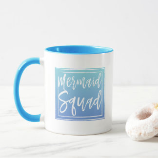 Meerjungfrau-Gruppe-Tasse Tasse