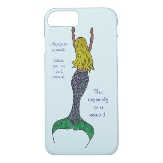 Meerjungfrau iPhone Fall iPhone 8/7 Hülle