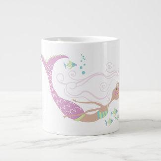 Meerjungfrau-Kaffee-Tasse Jumbo-Tasse