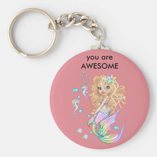 Meerjungfrau keychain schlüsselanhänger