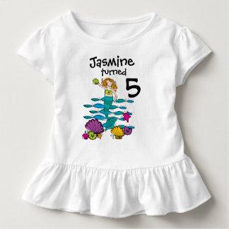Meerjungfrau-kundengerechter Geburtstags-T - Shirt