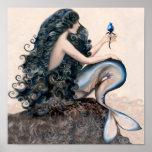 Meerjungfrau-Meerjungfrau-Fantasie-Mythos-Plakat Poster