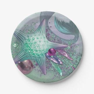 Meerjungfrau-Party-Teller Pappteller
