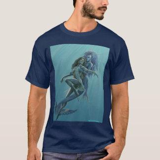 Meerjungfrau-Rettungs-T - Shirt