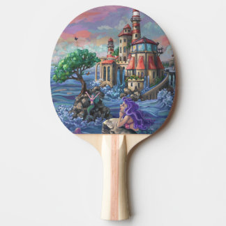 Meerjungfrau-Schloss Tischtennis Schläger