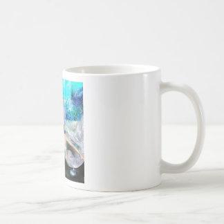 Meerjungfrau-Schwimmen Kaffeetasse