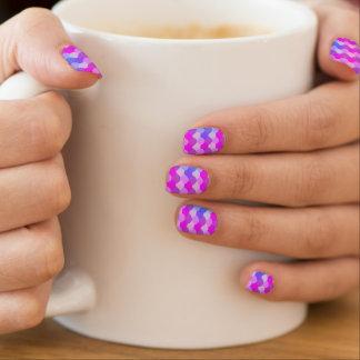 Meerjungfrau-Skala-Nagel Minx Nagelkunst