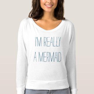 Meerjungfrau-Spitze T-shirt
