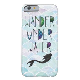 Meerjungfrau stuft IPhone Kasten ein Barely There iPhone 6 Hülle