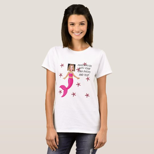 Meerjungfrau-T-Shirt - personifizieren Sie Foto u. T-Shirt
