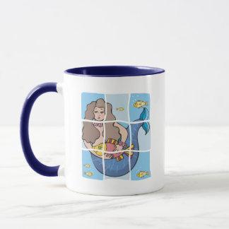 Meerjungfrau Tasse