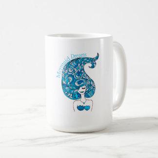 Meerjungfrau träumt Tasse