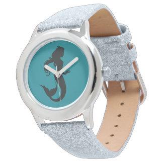 Meerjungfrau-Uhr Uhr