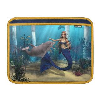 Meerjungfrau und Delphin MacBook Air Sleeve
