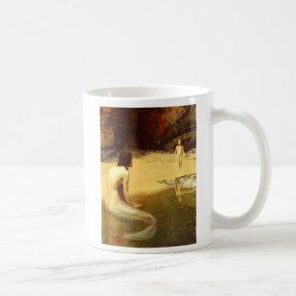 Meerjungfrau und Kind Kaffeetasse