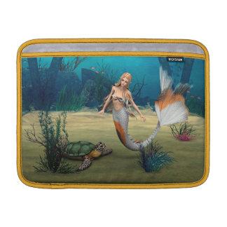 Meerjungfrau und Schildkröte Sleeve Fürs MacBook Air