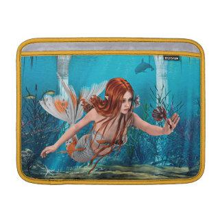 Meerjungfrau und Seelilie MacBook Sleeve