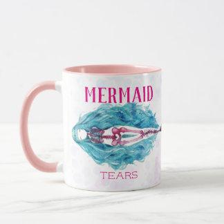 Meerjungfrau zerreißt Tasse