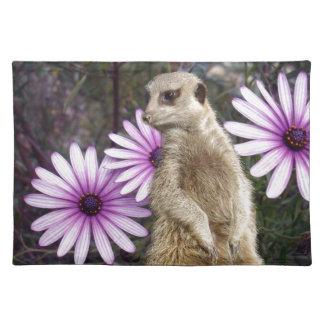 Meerkat_And_Daisies, _ Tischset